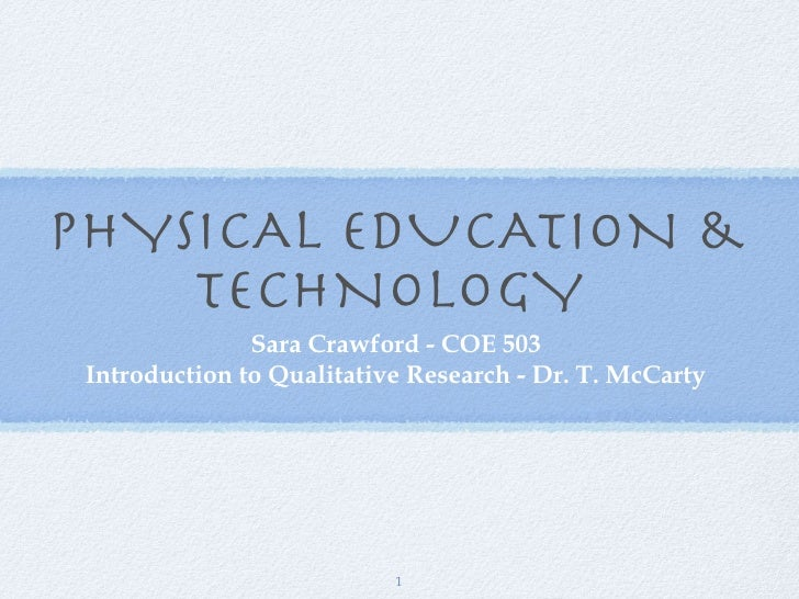 Physical Education best research website