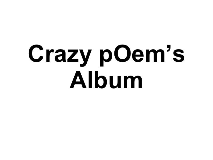 Crazy pOem's Album
