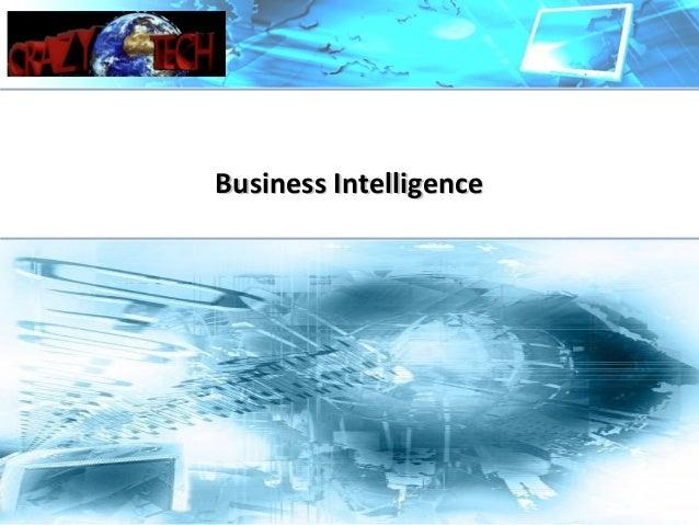 Business IntelligenceBusiness Intelligence