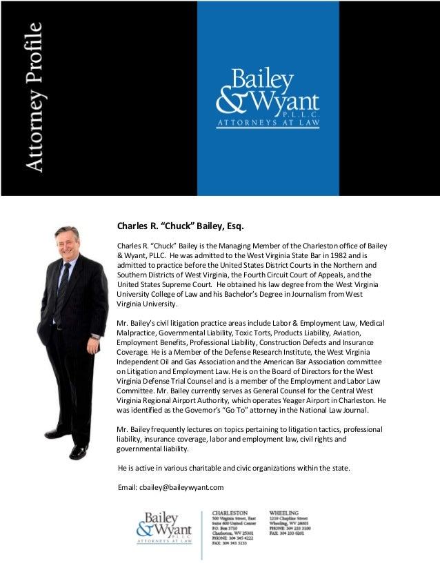 Charles R. Bailey Attorney Bio