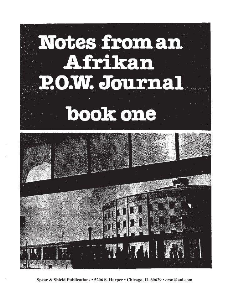 1Spear & Shield Publications • 5206 S. Harper • Chicago, IL 60629 • crsn@aol.com
