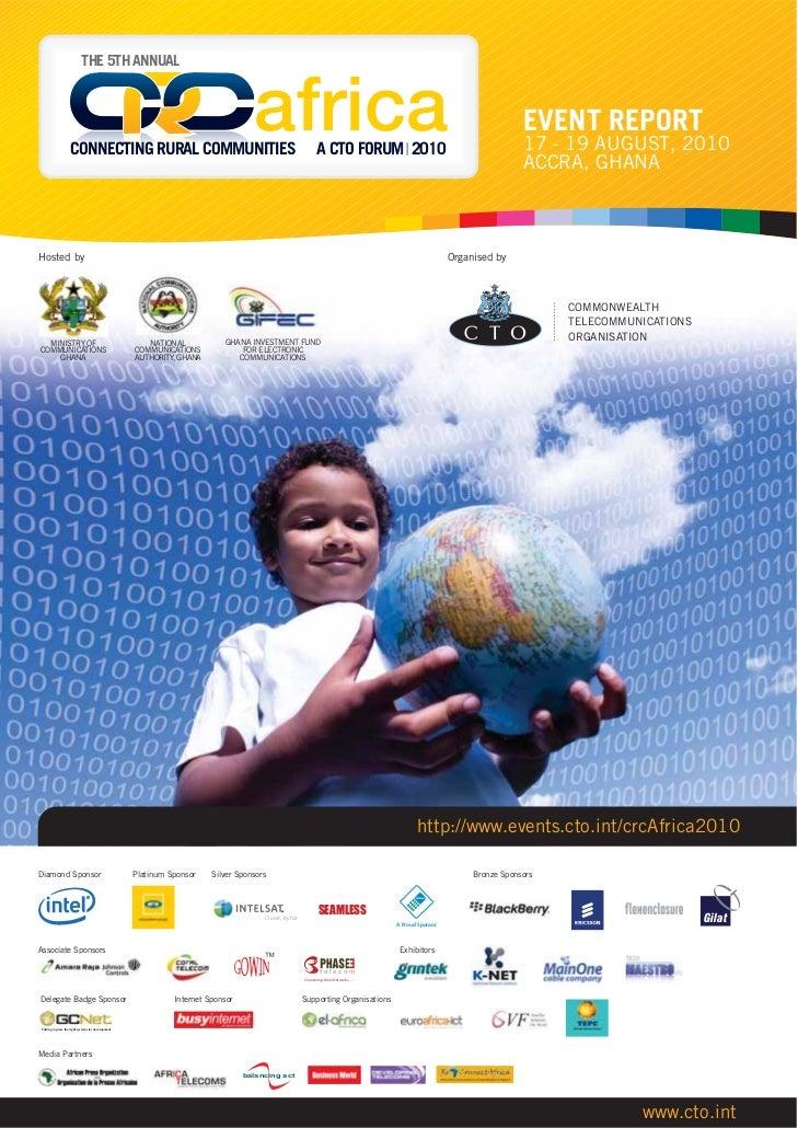 CTO-CRC-Africa-2010-Report