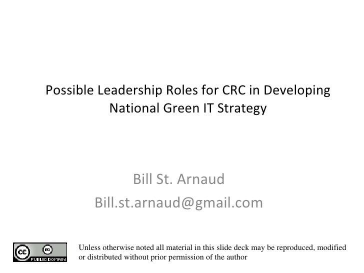 CRC Study