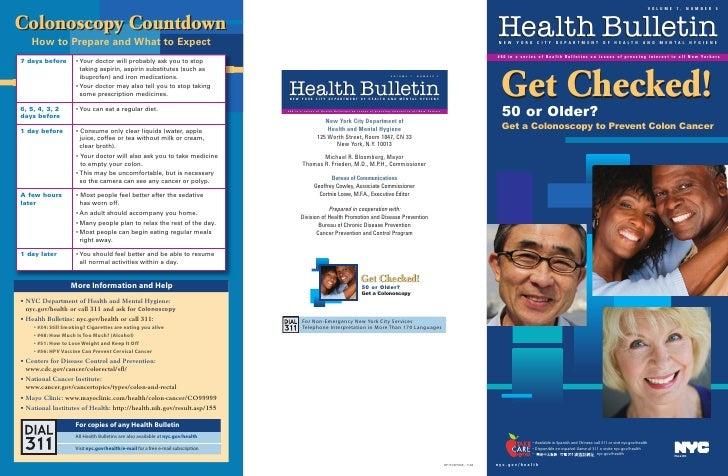 Crc health bulletin