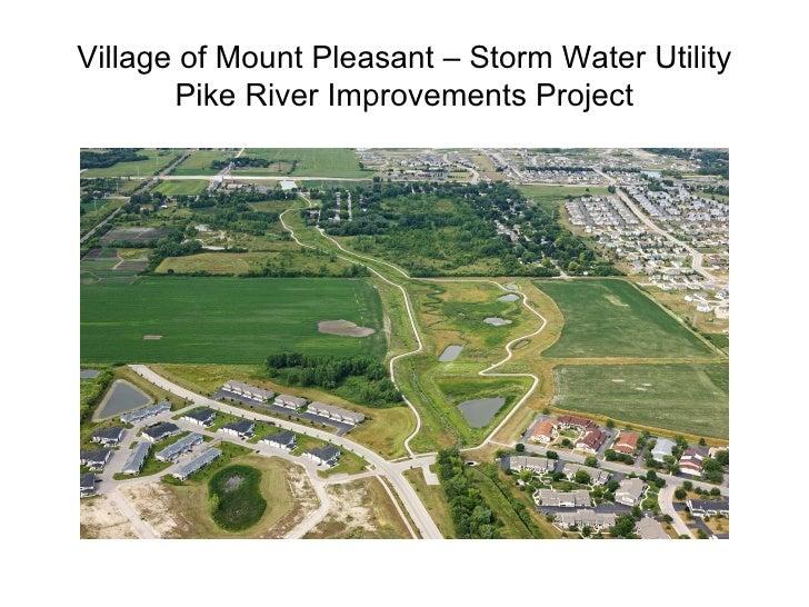 Clean Rivers, Clean Lake 8 -- Pike River Restoration Success -- Bill Sasse