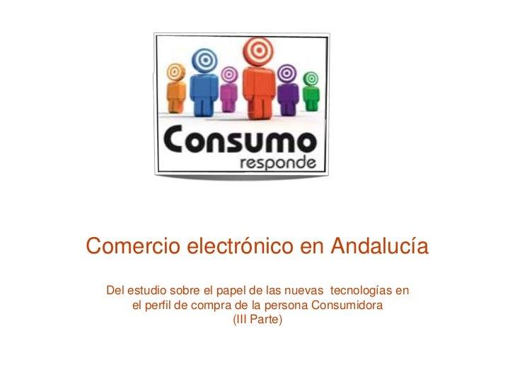 Comercio electrónico en Andalucía