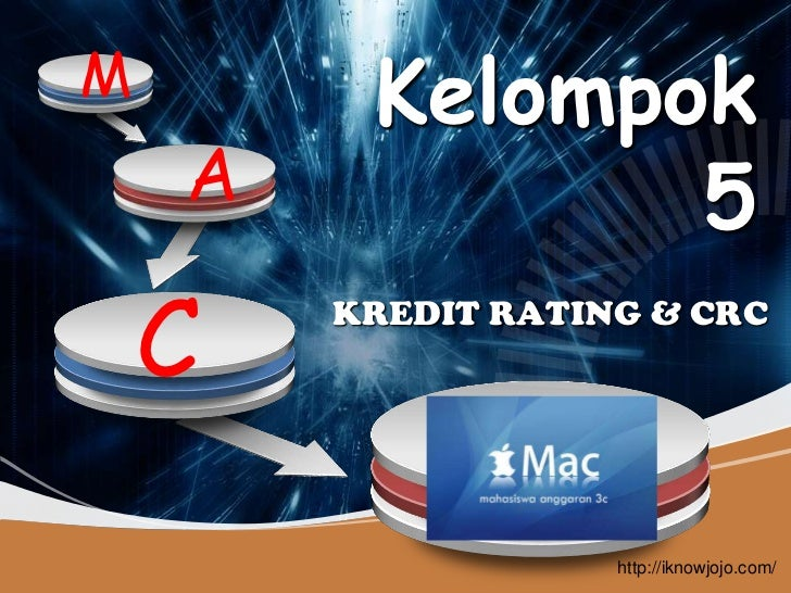 Crc risk rating kredit rating