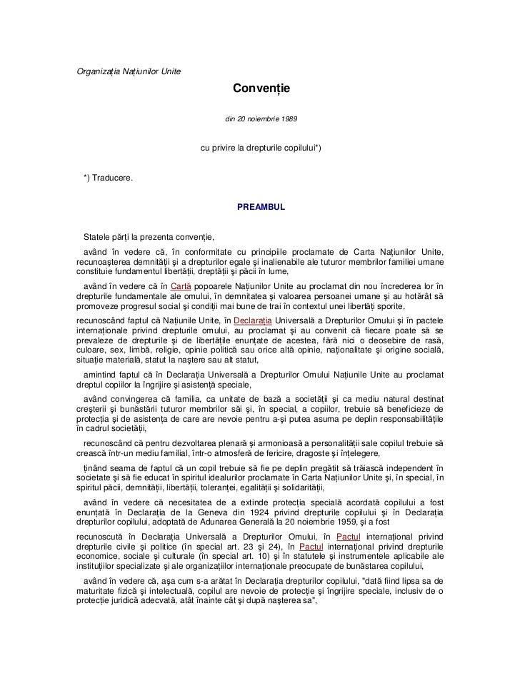 CRC - Romanian version