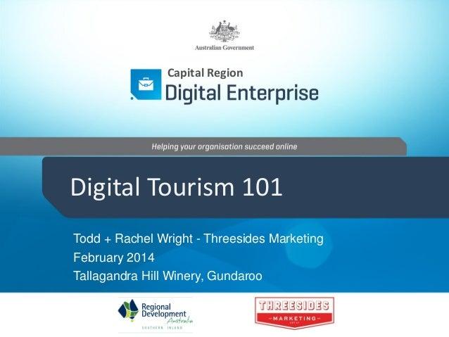Digital Tourism 101 - Yass Valley