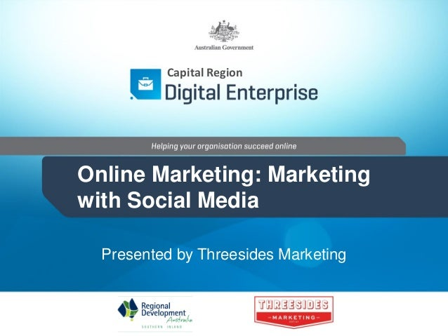 Online Marketing: Using Social Media - Queanbeyan