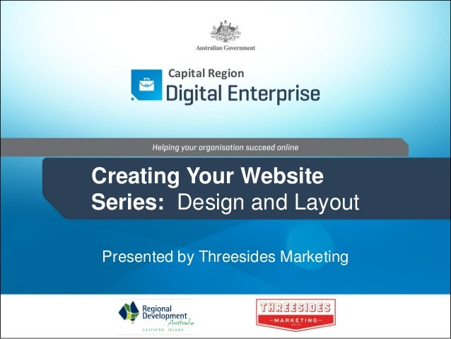 Creating a Website: Design and Layout