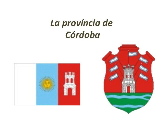 La província deCórdoba