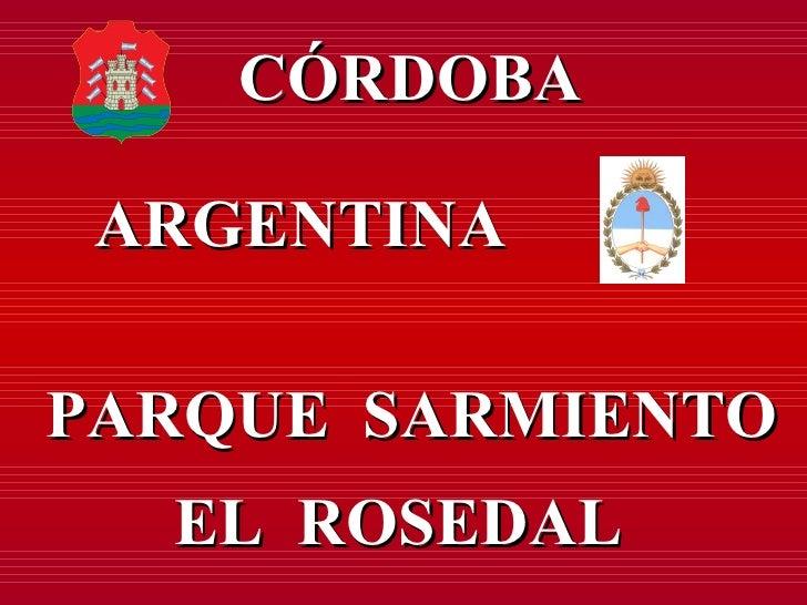 Córdoba - Parque Sarmiento 2