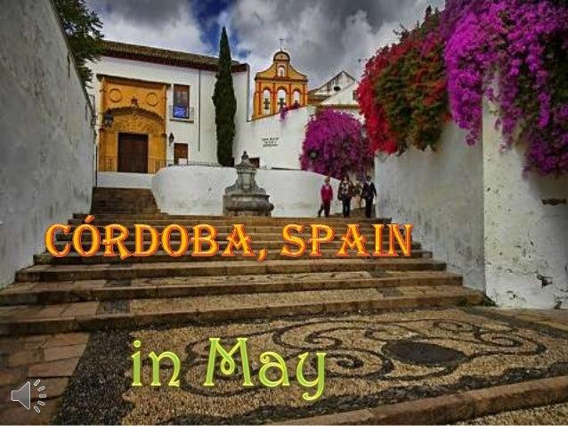 Córdoba, spain in may (v.m.)