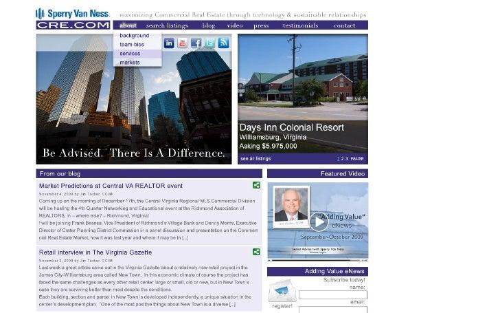 Cre Homepage Mockup