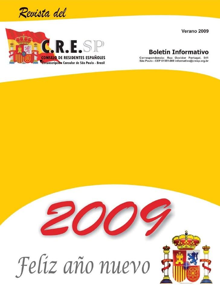 CONSEJO DE RESIDENTES ESPAÑOLES EN SÃO PAULO 3212109876543210987654321098765432121098765432109876543210987654321 321210987...