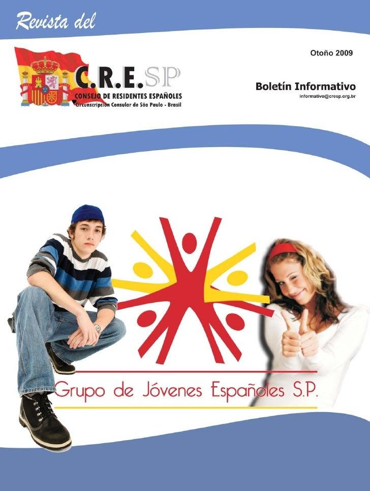 CONSEJO DE RESIDENTES ESPAÑOLES EN SÃO PAULO                32121098765432109876543210987654321210987654321098765432109876...