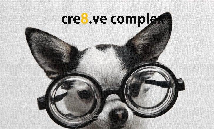 Cre8ve complex e brochure