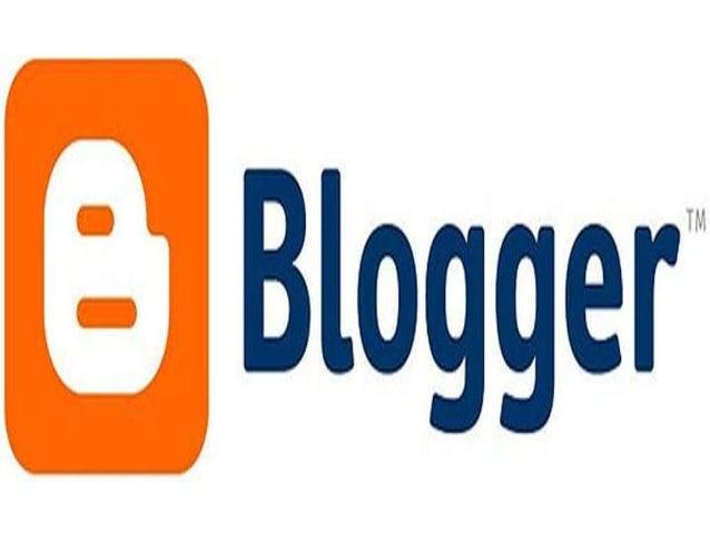 Creación de un blog•   Nos conectamos a la página    web: www.blogger.com donde veremos    una pagina como muestra la imag...