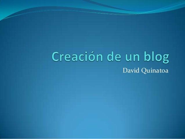 David Quinatoa