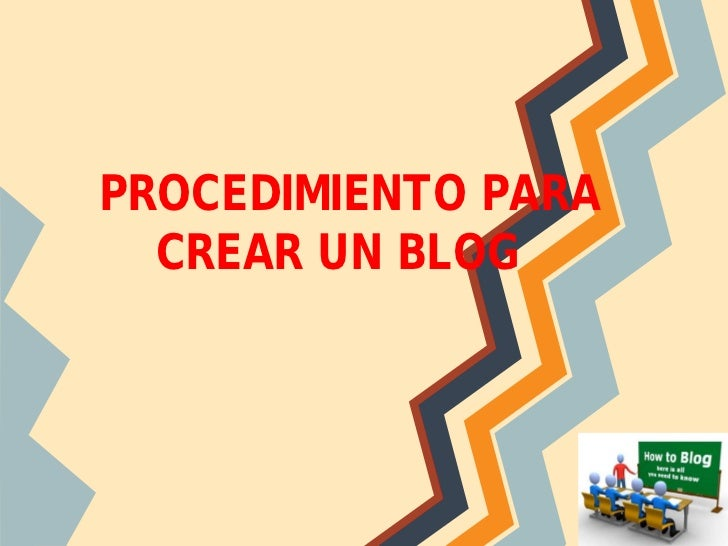 Creacion de blogger