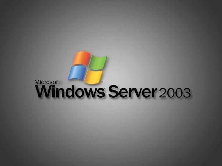 Windows 2003 Server Cuotas de disco en Eric SanJaime Ramos