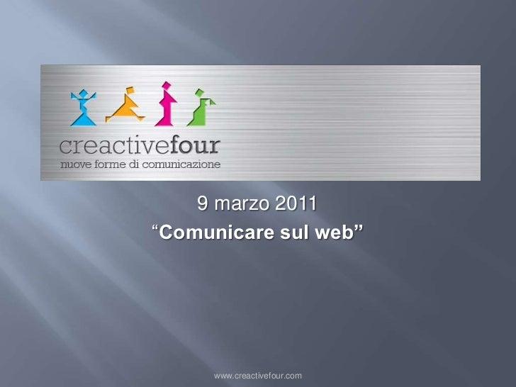 CreActive Four presentazione Barletta2011