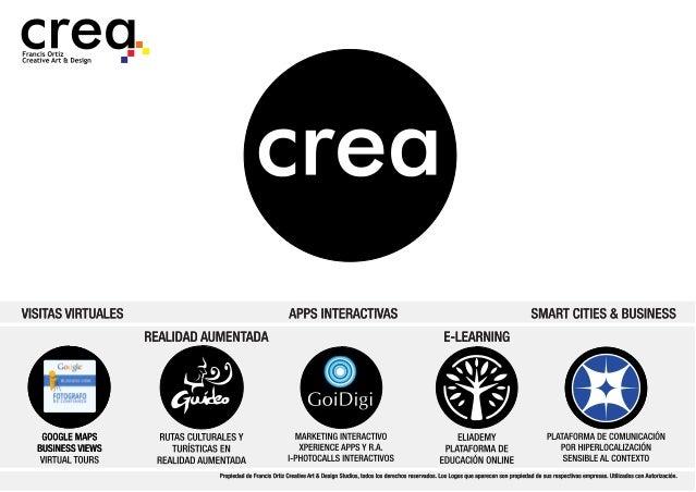 Crea design productos y servicios 2014-mayo