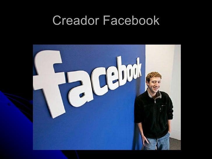 Creador Facebook