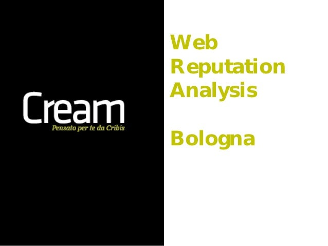 WebReputationAnalysisBologna