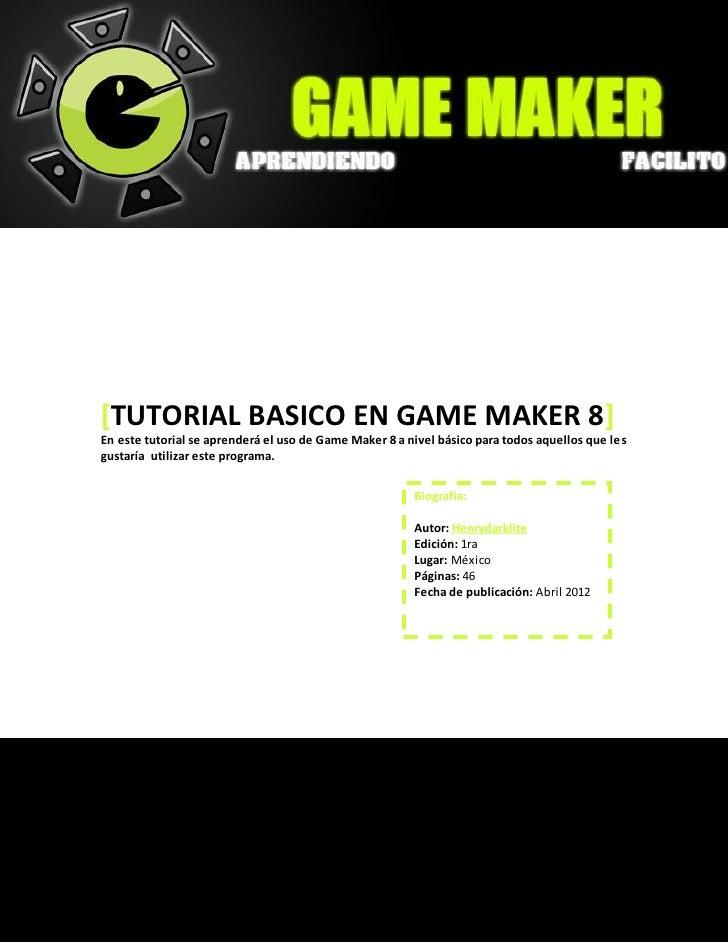 Creando juegos con game maker 8
