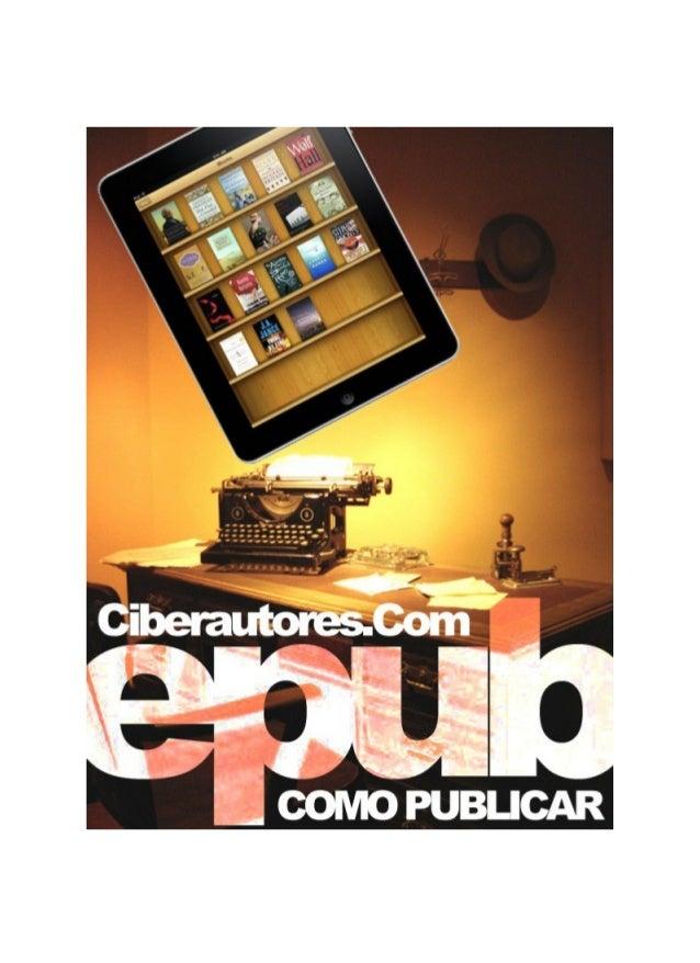 Crear un libro en formato ePub