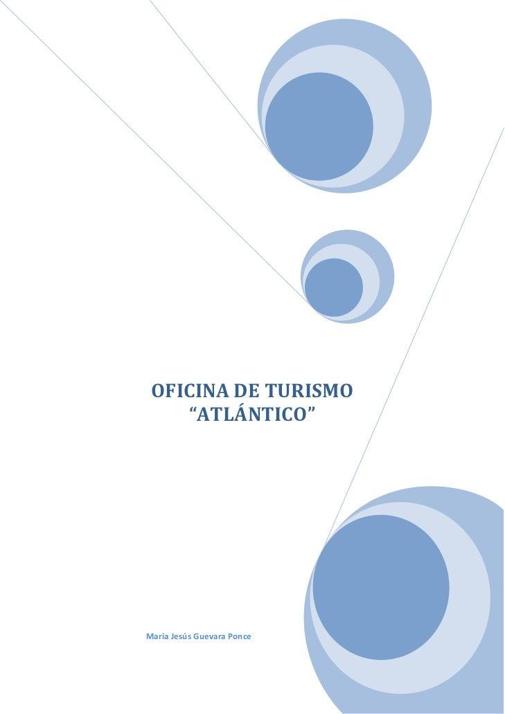 """OFICINADETURISMO           """"ATLÁNTICO""""                                                         ..."""