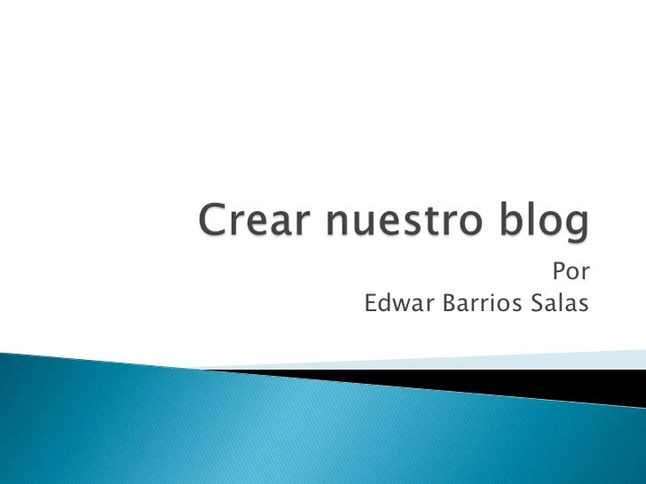 PorEdwar Barrios Salas
