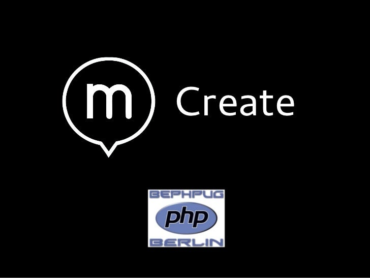 Create - Decoupled CMS interface