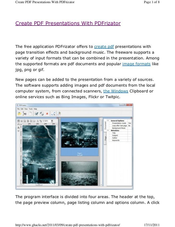 Create pdf-presentations-with-