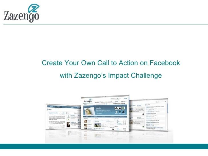 Zazengo - Create Your Own Challenge On Facebook