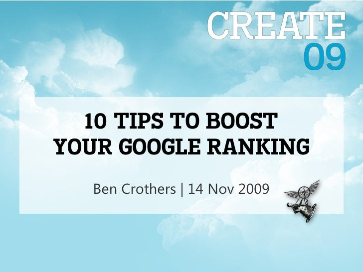 10 tips to boost your Google ranking