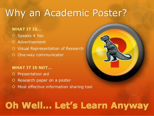 Create And Design A Better Academic Poster