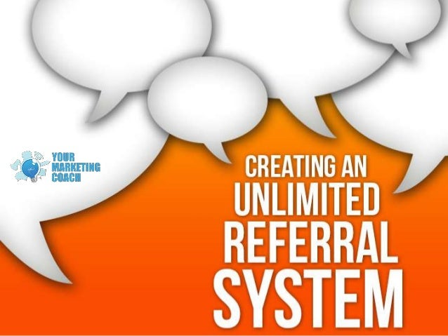 Create an unlimited referral system