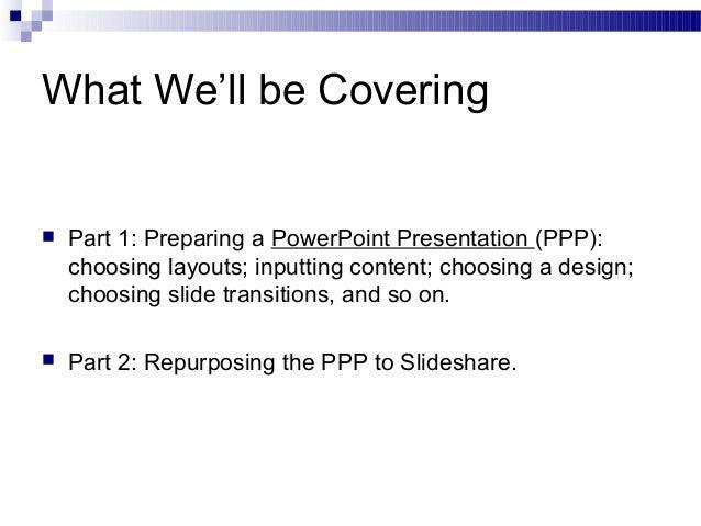 It powerpoint presentation