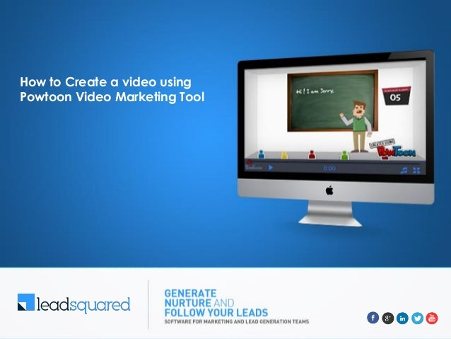How to Create a video using Powtoon Video Marketing Tool