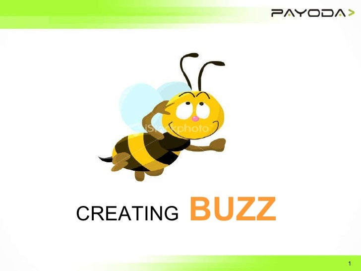 CREATING   BUZZ