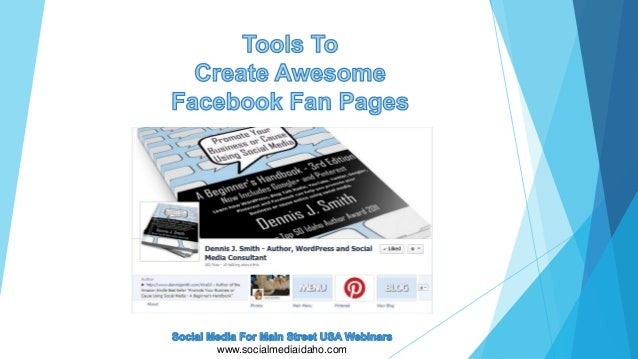 Tool To Create Custom Facebook Fan Pages