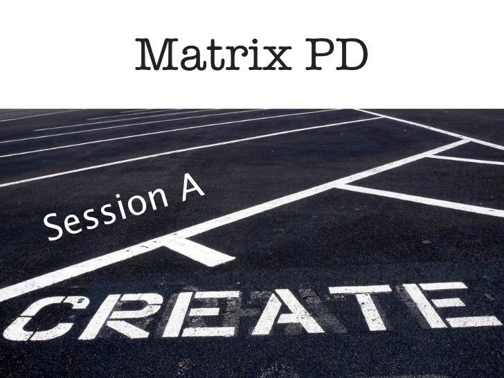 Matrix PD      on ASessi