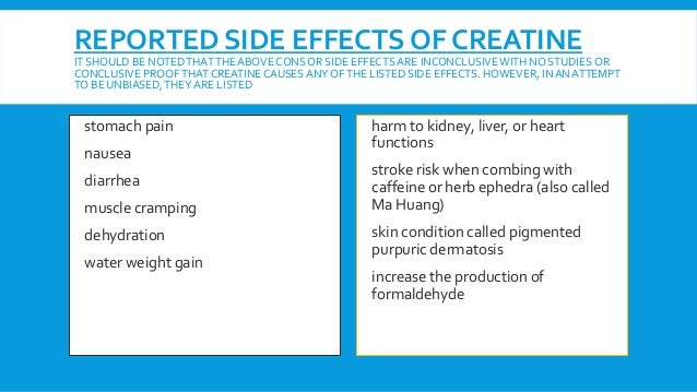 the effects of creatine a synthetic supplement Pre workout supplement side effects  it depends on what  growth supplement means if it' s synthetic human growth hormone it can cause  creatine seems to be.