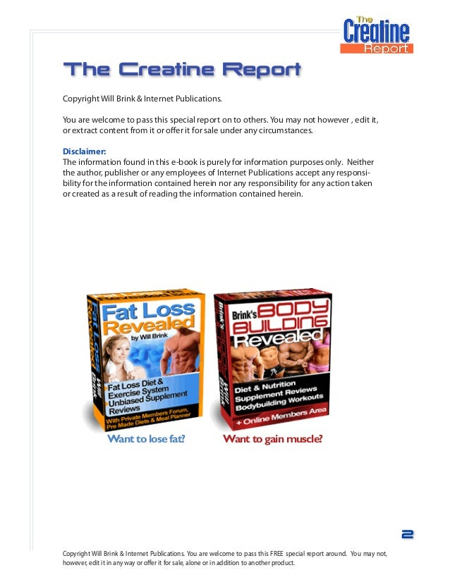 Creatine Research Paper - image 9