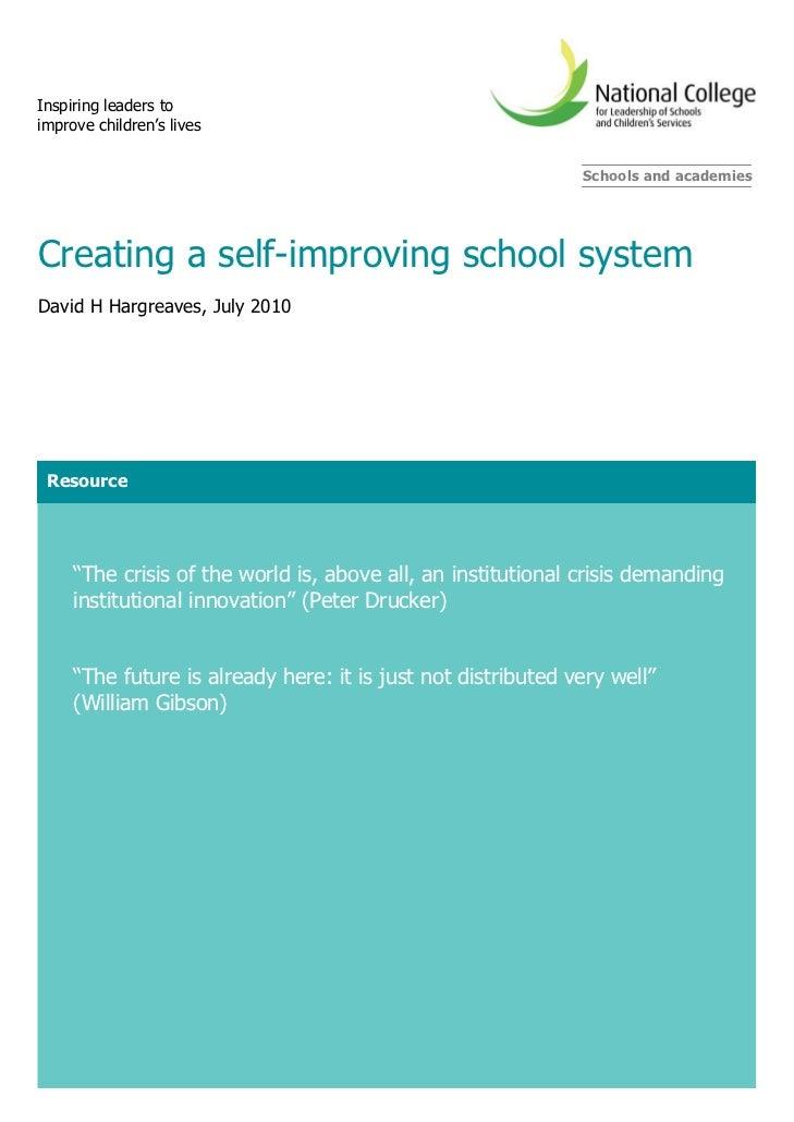 Inspiring leaders toimprove children's lives                                                              Schools and acad...
