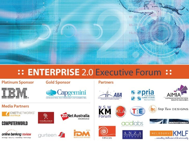 Creating business value from Enterprise 2.0