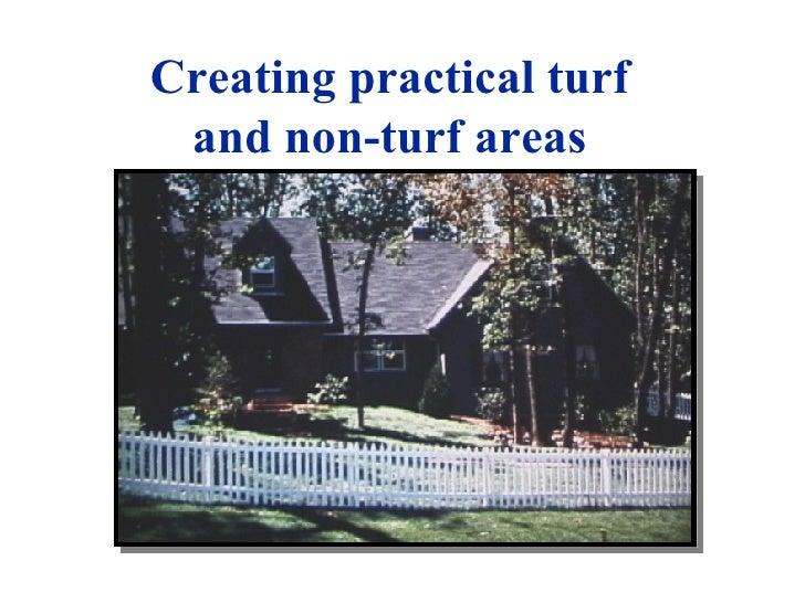 Creating Practical Turf Areas C Su